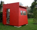 1. red shed, oxford botanical gardens